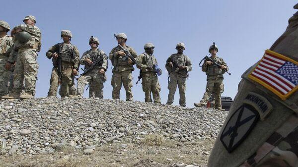 Солдаты армии США на учениях в Европе
