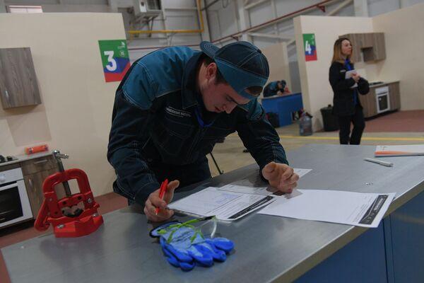Конкурс Московские мастера на базе АО Мосгаз