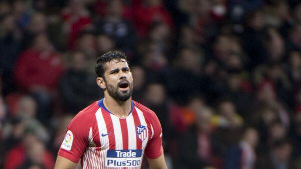 Нападающий мадридского Атлетико Диего Коста
