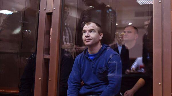 Задержанные украинские моряки в Московском городском суде. 13 февраля 2019