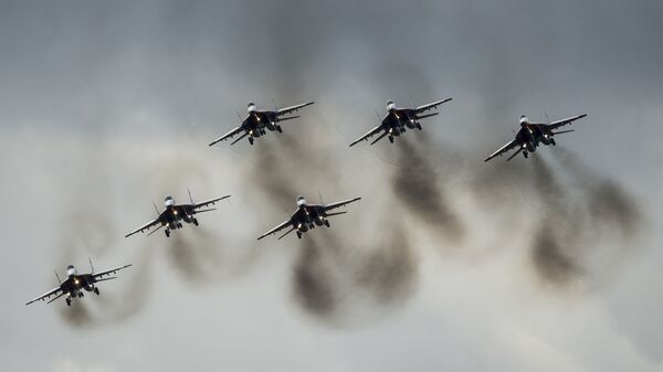 Многоцелевые истребители МиГ-29