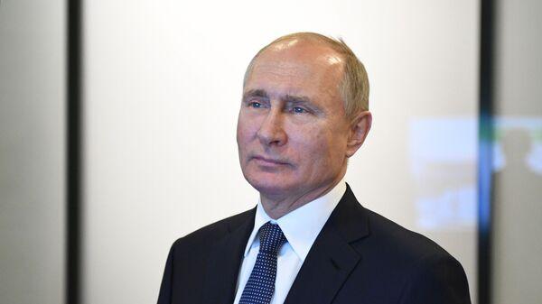 Президент РФ Владимир Путин в Казани