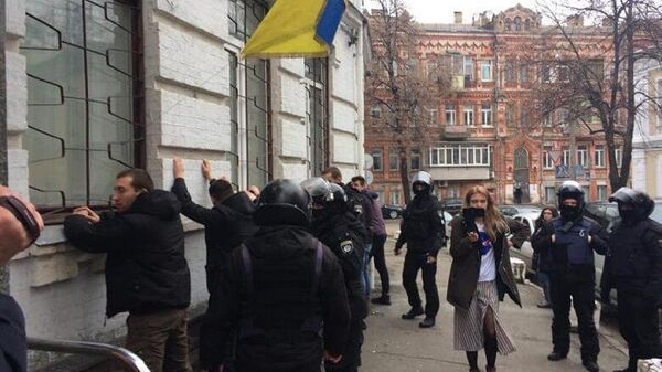 Задержание радикалов в Киеве. 9 февраля 2019 года