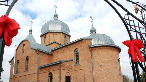 Свято-Георгиевский храм канонической УПЦ в селе Кульчин в Волынской области