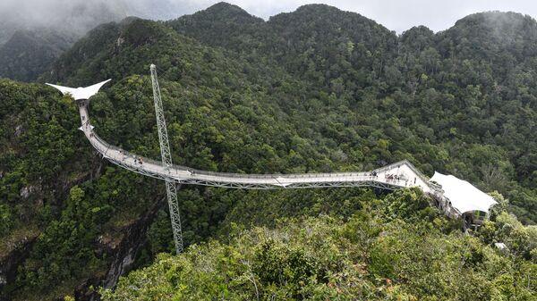 Небесный мост Langkawi в Малайзии