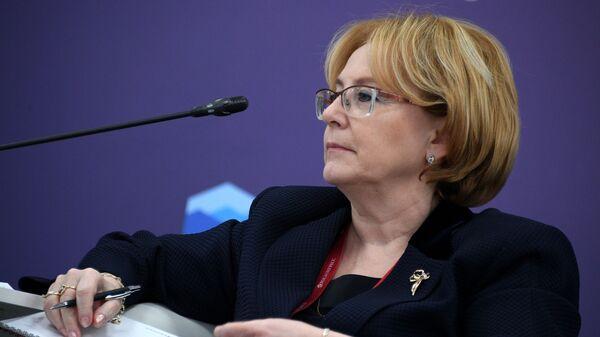 Министр здравоохранения Вероника Скворцова на Российском инвестиционном форуме в Сочи