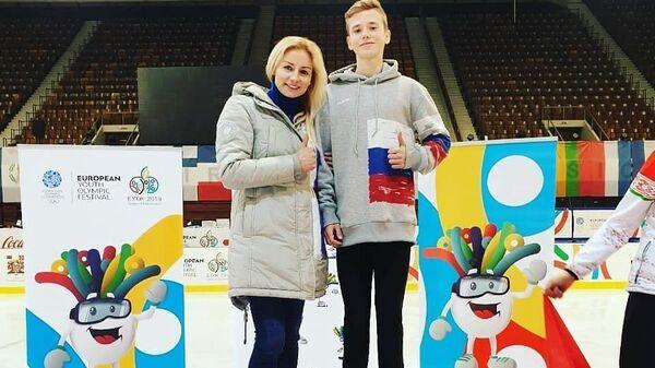Виктория Буцаева и Илья Яблоков