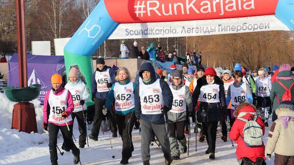 Фестиваль скандинавской ходьбы Scandi Karjala. Легенды Гипербореи прошел на Онежском озере