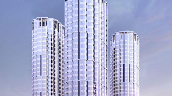 Проект строительства комплекса апартаментов в Покровском-Стрешнево на Волоколамском шоссе в Москве