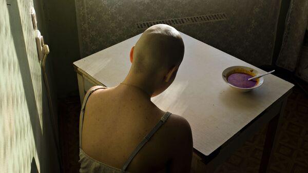 Работа фотографа Алены Кочетковой из серии Как я болела