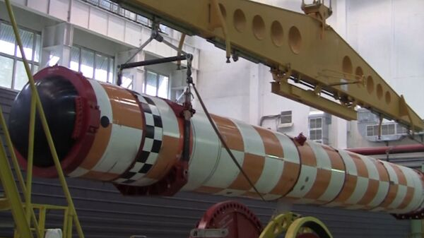 Кадры испытаний новейшего подводного комплекса «Посейдон»