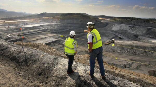 Добыча угля в долине Hunter Valley в Австралии