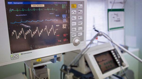 Диагностический медицинский прибор в больнице