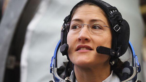 Член основного экипажа МКС-59/60 астронавт НАСА Кристина Кук (США)