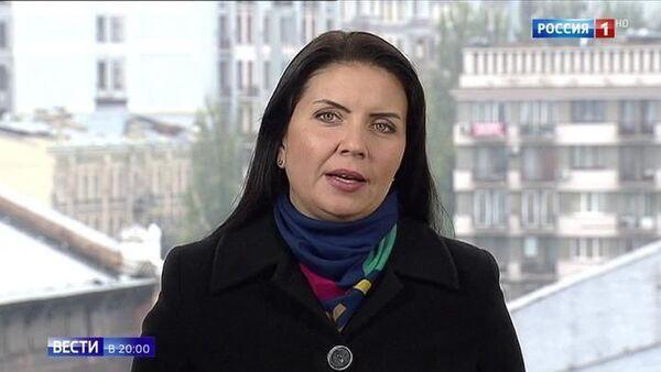 Журналист Ольга Юрьева