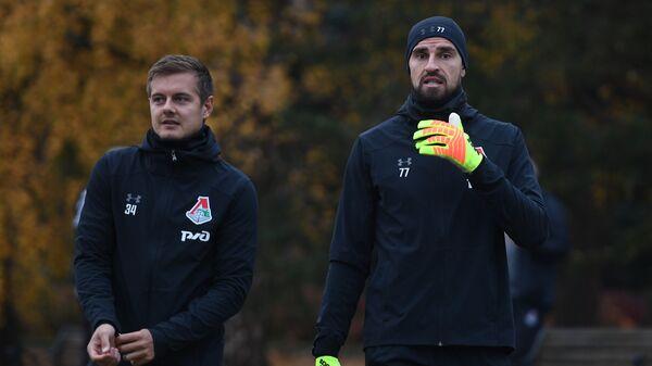 Тимофей Маргасов (слева) и Антон Коченков