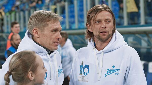 Анатолий Тимощук (справа)