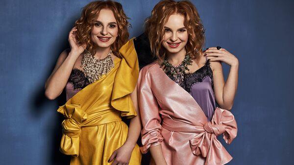 Украинские исполнительницы Анна и Мария Опанасюк