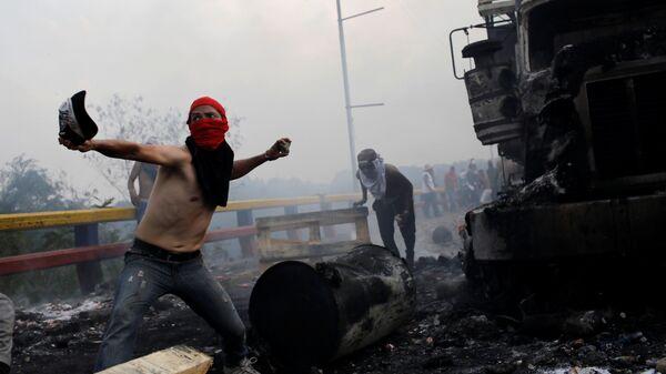 Столкновения на границе между Колумбией и Венесуэлой. 23 февраля 2019