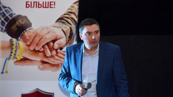 Кандидат в президенты Украины, лидер партии Народный контроль Дмитрий Добродомов