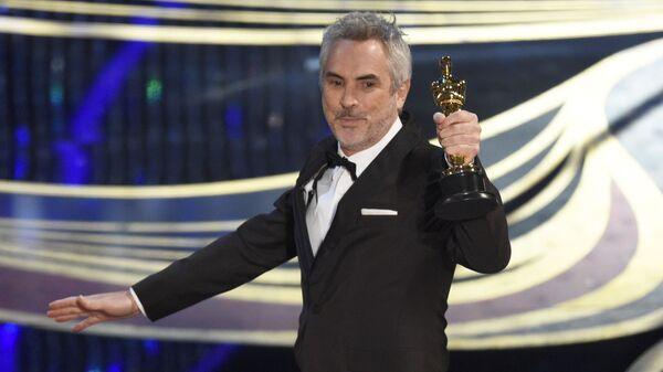 Мексиканский режиссер Альфонсо Куарон на 91-й церемонии вручения премии Оскар
