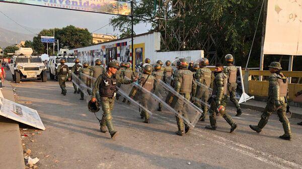 Ситуация на границе между Колумбией и Венесуэлой