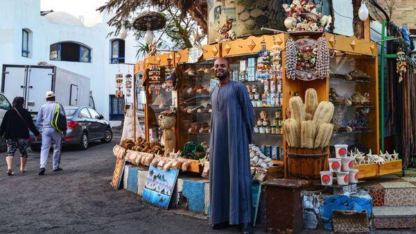 Уличный торговец в Шарм-эль-Шейхе