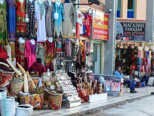 Уличная торговля в Шарм-эль-Шейхе