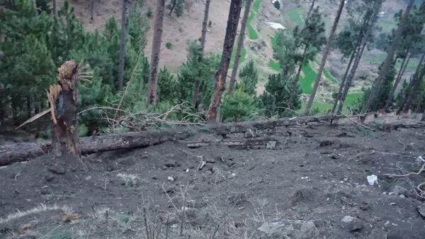 Место нанесения ударов ВВС Индии по тренировочному лагерю террористов в Пакистане. 26 февраля 2019