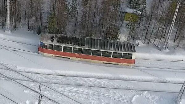 Самый красивый трамвайный маршрут России