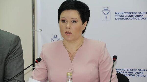 Министр занятости, труда и миграции Саратовской области Наталья Кривицкая