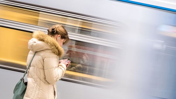 Пассажир в метро