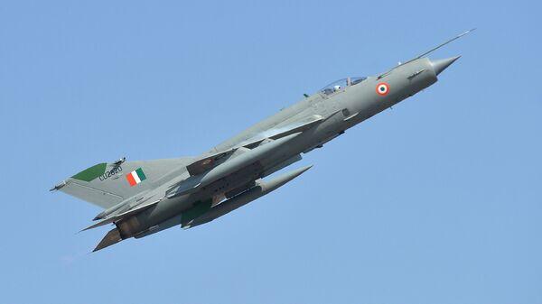 Истребитель МиГ-21 ВВС Индии