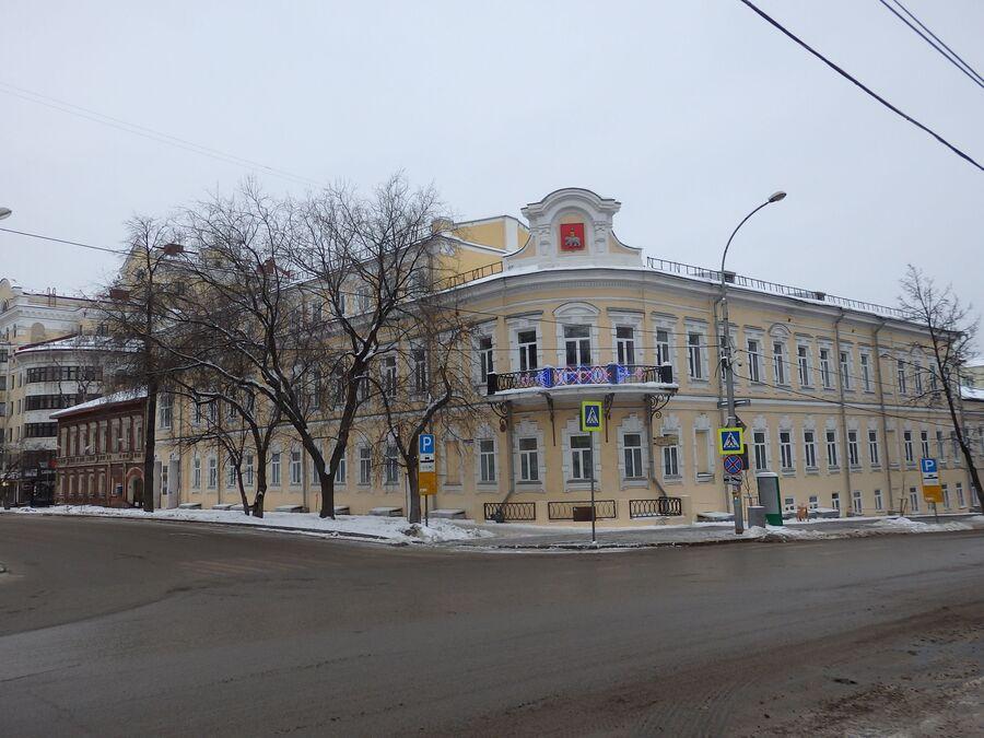 В центре Перми