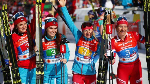 Сборная России по лыжным гонкам