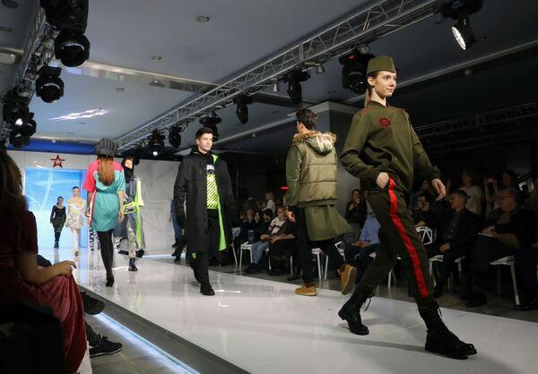 Финал конкурса дизайнеров военной формы Армии России