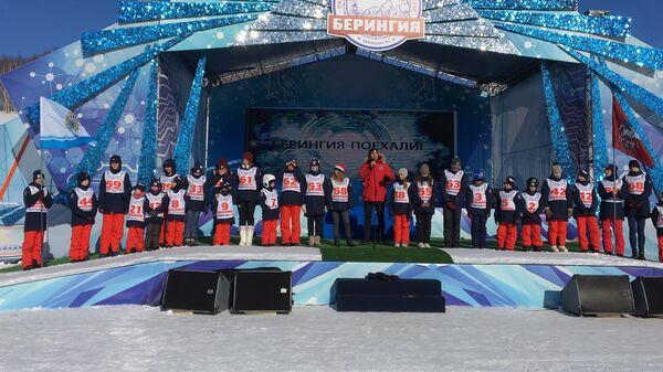 Участники гонки Берингия -2019