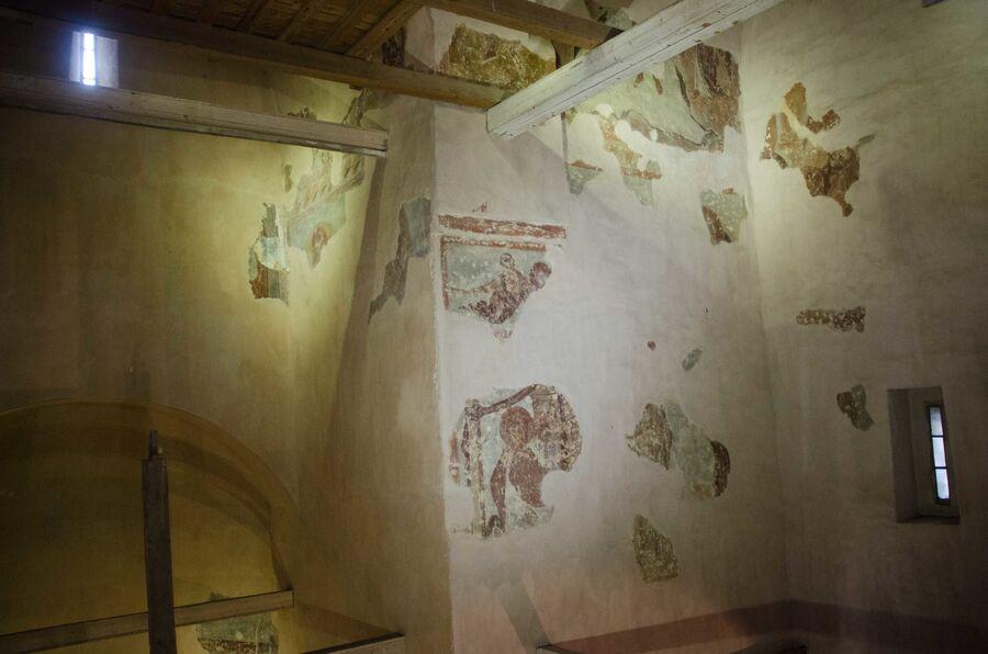 Фрески Феофана Грека в храме Спаса на Ильине в Великом Новгороде