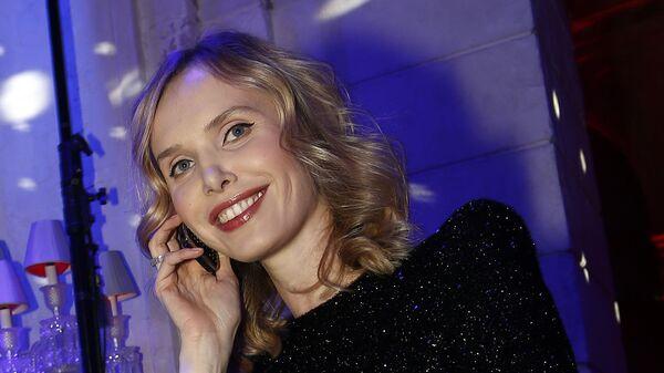 Актриса и фотограф Илона Столье на вечеринке ювелирного дома de Grisogono