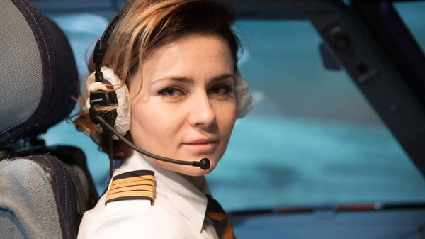 Командир воздушного судна Airbus A320 Мария Уваровская