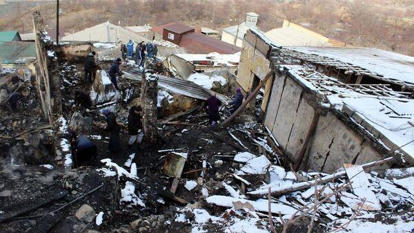 Ситуация на месте пожара в Тисси-Ахитли