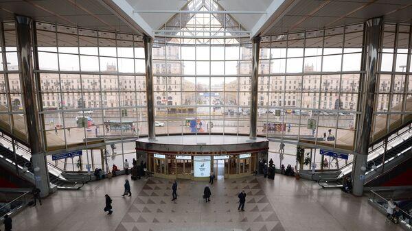Железнодорожный вокзал Минск-Пассажирский в Минске