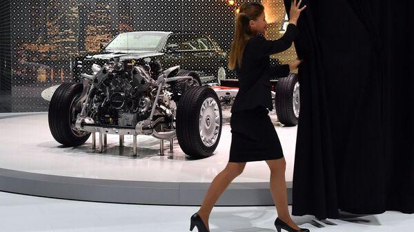 Ходовая система автомобиля Aurus на Женевском автосалоне