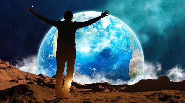 Человек на другой планете