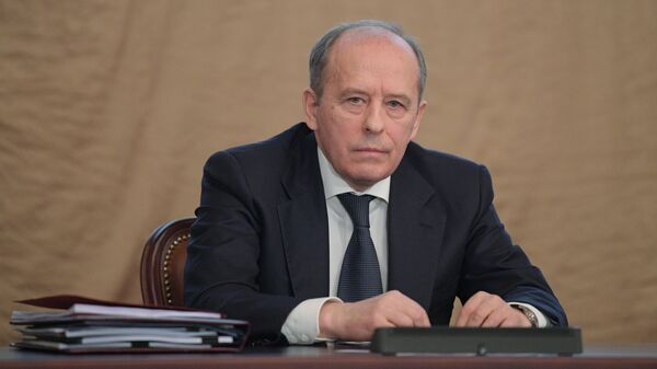 Директор Федеральной службы безопасности РФ Александр Бортников на заседании коллегии ФСБ. 6 марта 2019
