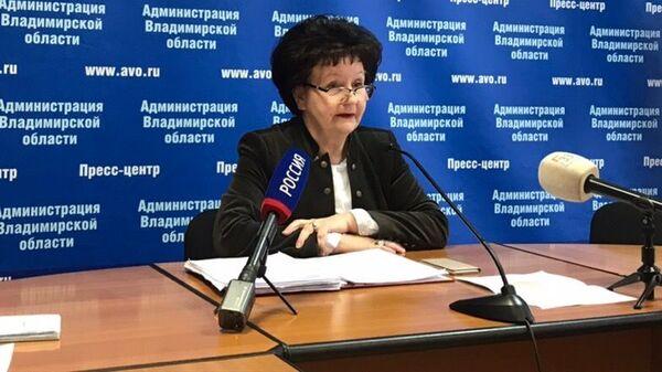 Директор департамента образования Владимирской области Ольга Беляева