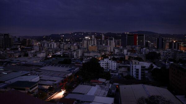 Каракас во время отключения электричества. 7 Марта 2019