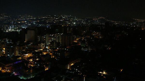 Отключение электричества в Каракасе