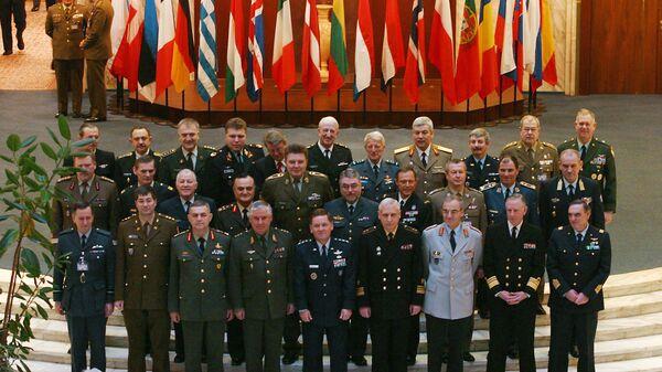 На заседании военных представителей Совета Россия-НАТО