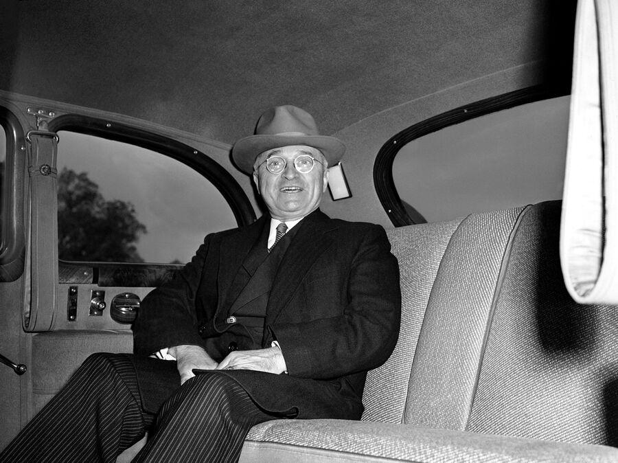 Президент США Гарри Трумэн. 16 апреля 1945